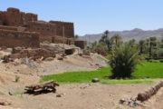Kasbah omgeving Zagora maroko