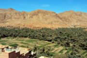 Mooie dorp bij Thingir Marokko