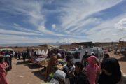 Markt Middelt Marokko