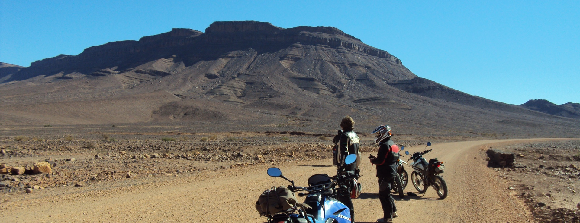 Berg Tazarine marokko